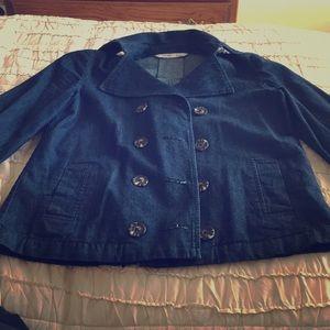 Old navy denim jacket. Size xs. Like new